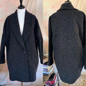 Rare Dolman Sleeve Allsaints wool coat